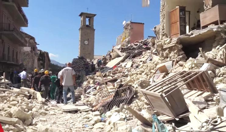 The damage caused by an earthquake- Mexico City Earthquake