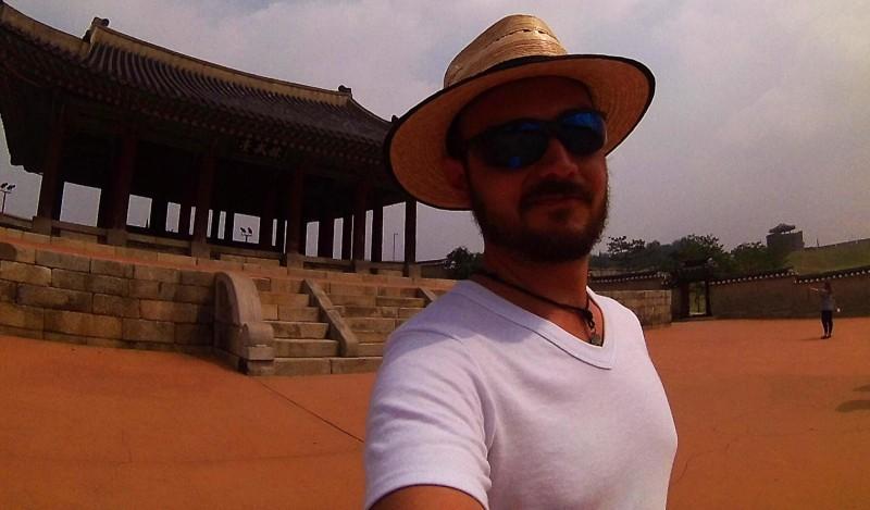 Renee enjoying his travels through South Korea -Explore South Korea
