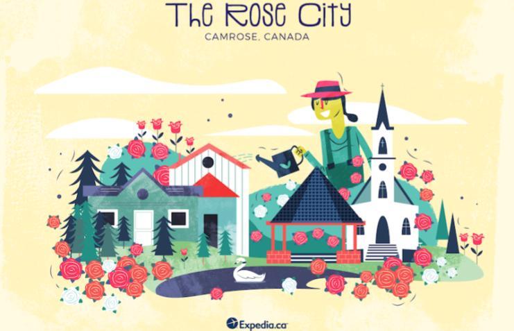 The Rose City- Camrose, City Nicknames