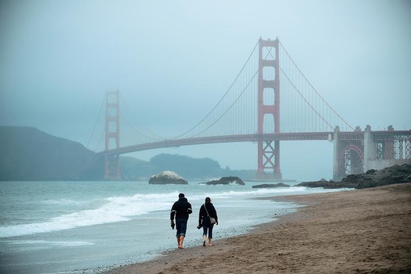 San Francisco, California- West Coast USA
