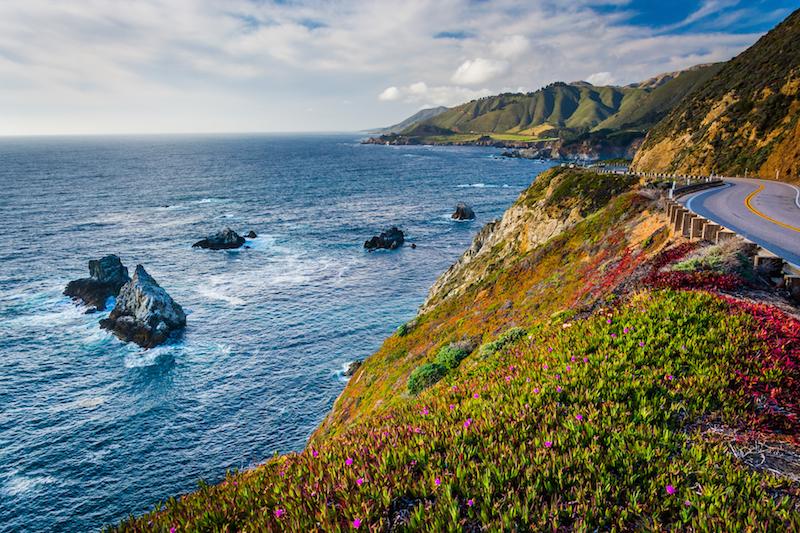 The Big Sur, California- West Coast USA