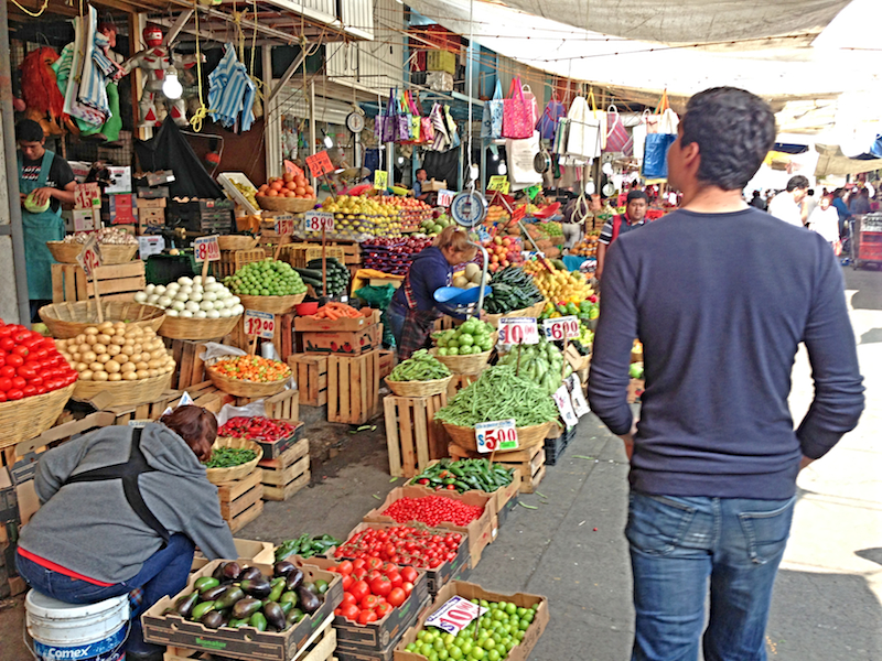 Taste the delicious local cuisine in Mexico City at the Local Markets