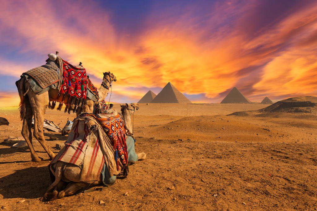 Great Pyramids- A destination being destroyed by tourism