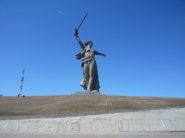 The Motherland Calls monument Russia