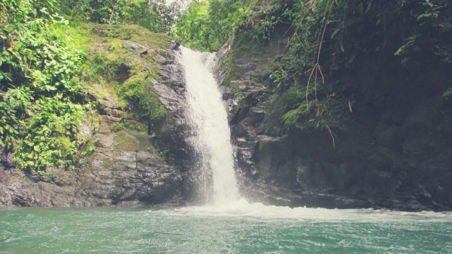 Cascada Verdes in Cpsta Rica