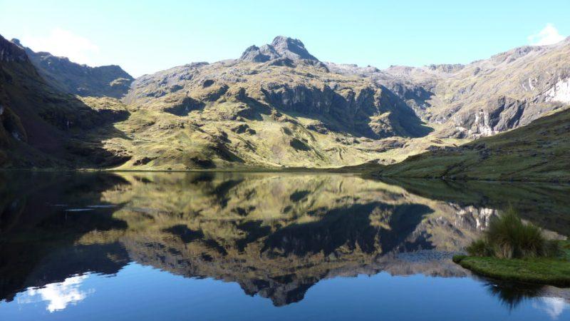 Lake along the Lares Trek in Peru