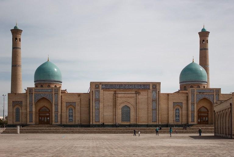 A Mosque in Tashkent Uzbekistan