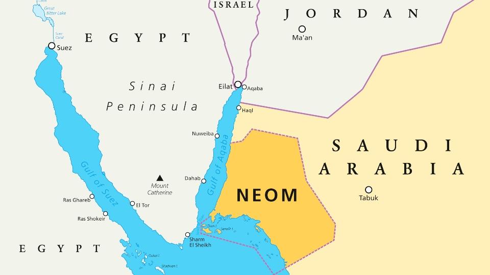 NEOM megacity Saudi Arabia