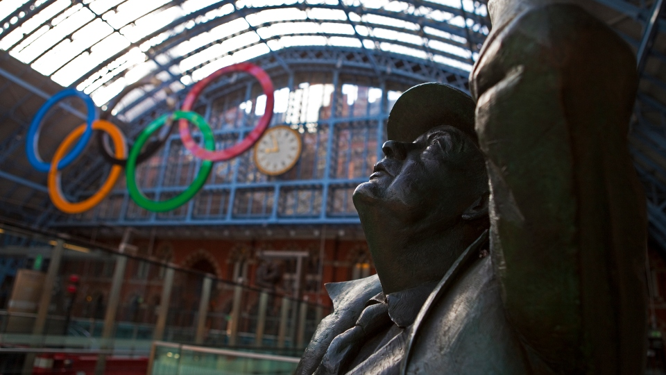 London Olympics in transport