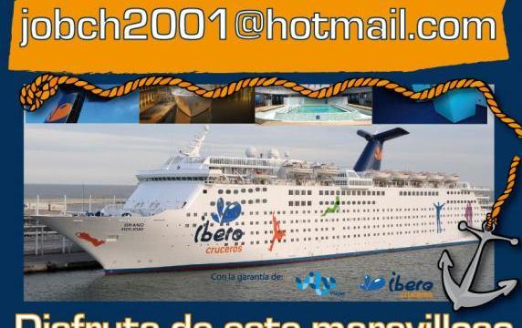 Y el ganador del crucero, a través de nuestra newsletter, es…….