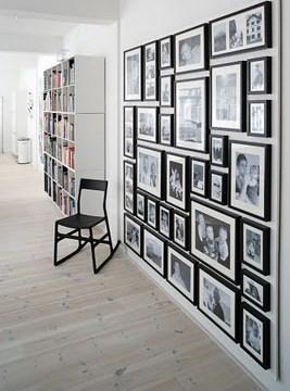 """Banak Importa: Decora tus paredes creando tu propio """"collage"""" de cuadros y marcos de fotos"""
