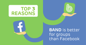 Should I Use BAND or Facebook Groups?