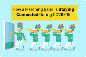 How a Marching Band is Staying Connected During COVID-19