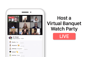 How a Band Director Hosted a Virtual Banquet Watch Party