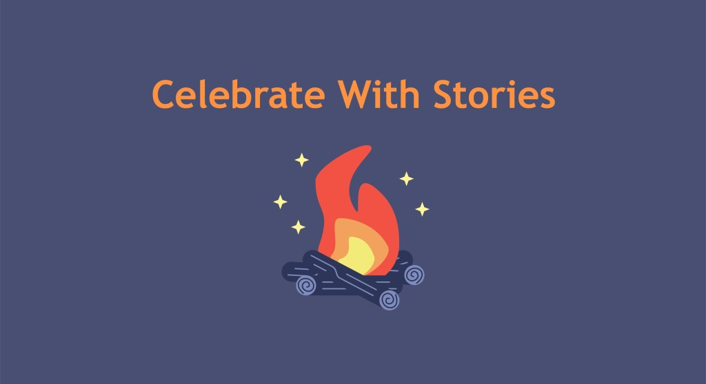 celebrate with stories on BAND app