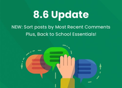 BAND app Update 8.6: Sort Posts by Most Recent Comments!