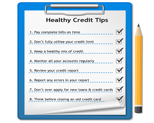 Healthy Credit Tips