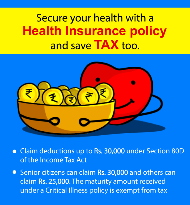 Save tax with Health Insurance