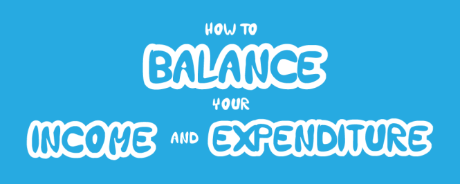 How to balance your income and expenditure