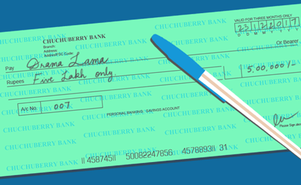 Know Your Cheque