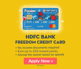 HDFC Freedom card 2