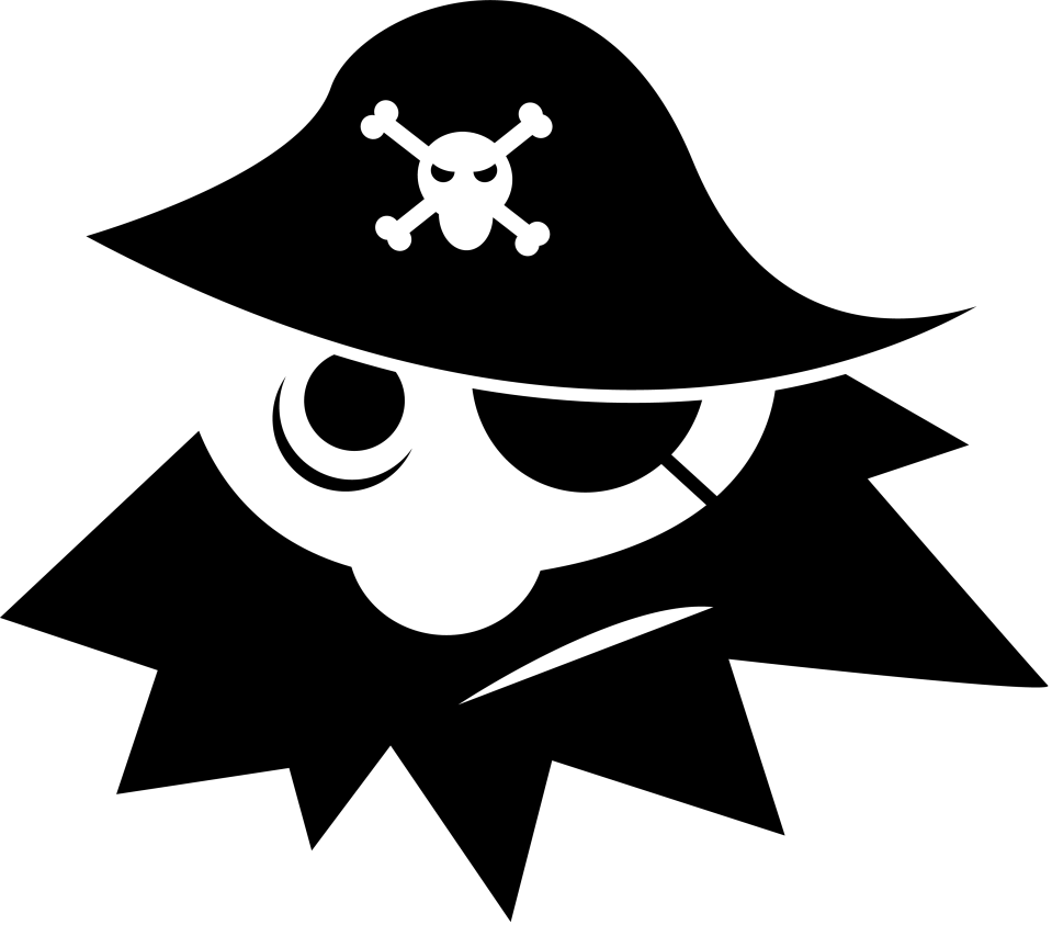 Pirate (source : OpenClipArt.org)