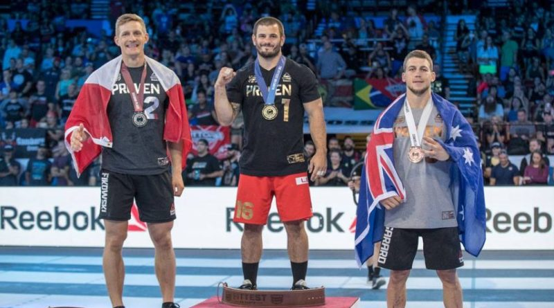 2017 CrossFit Games Podium