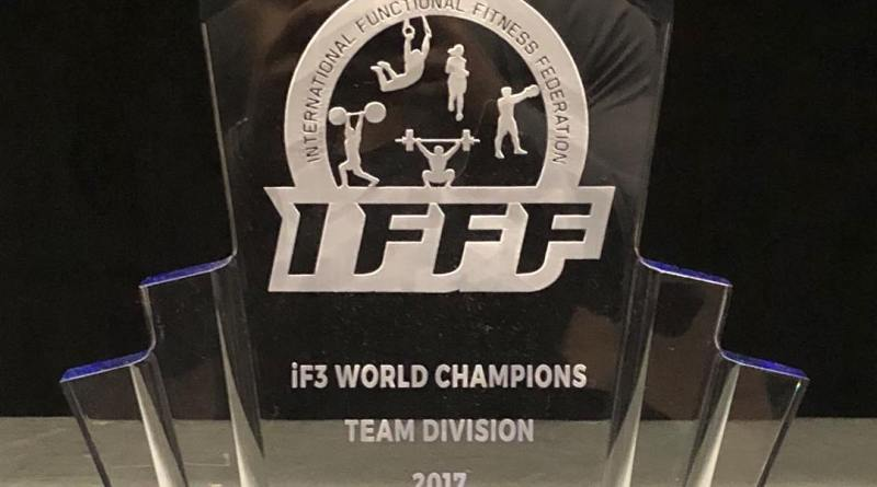 iF3 World Champions Team Division Trophy