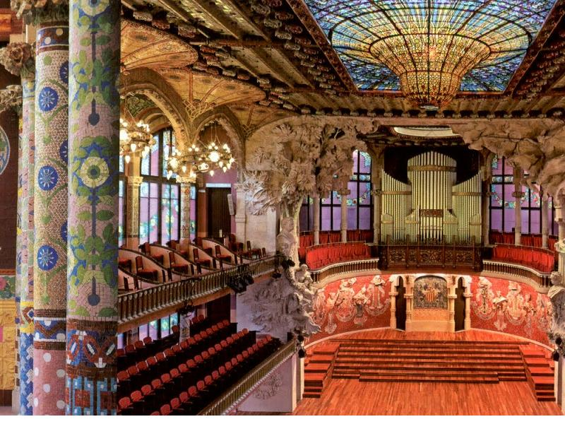 Only this Summer Palau de la Msica guided visit with