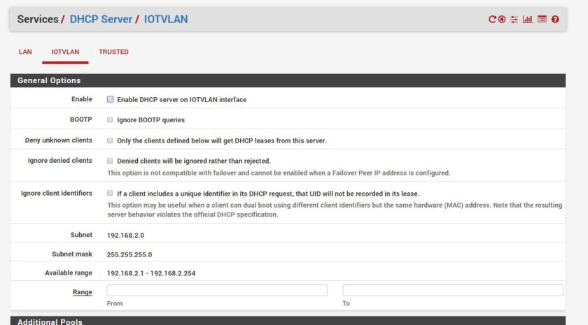 VLAN Setup using pfSense and UniFi Wireless Networks