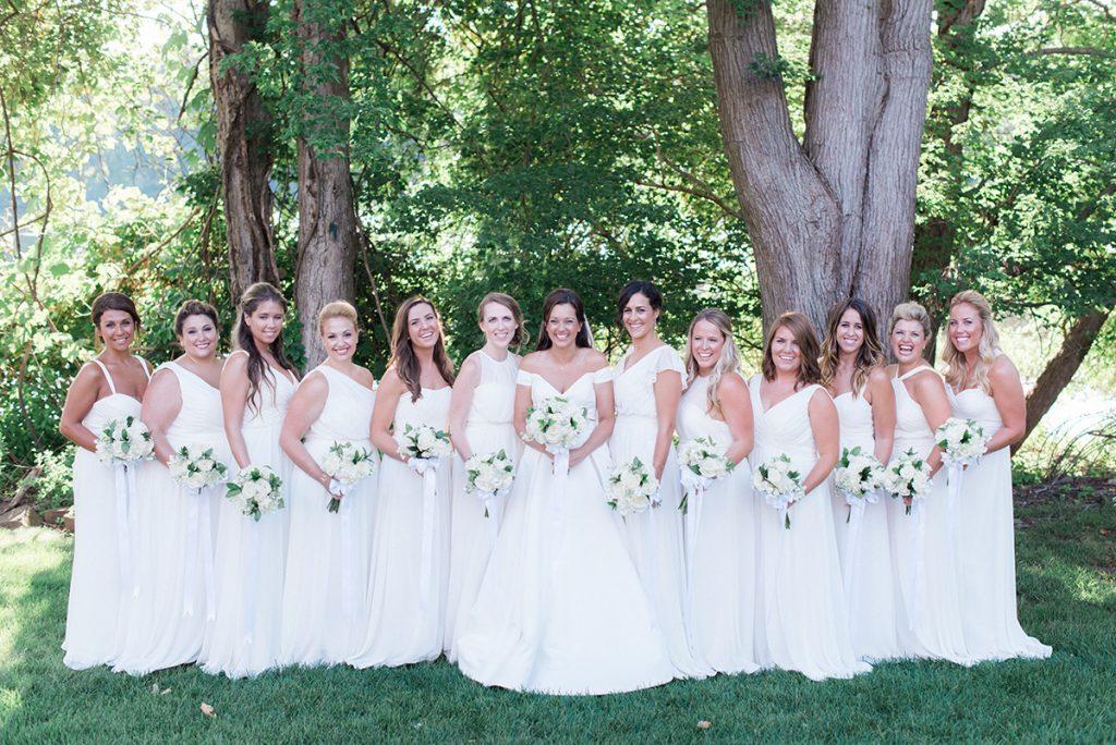 traditional vs trendy bridesmaid