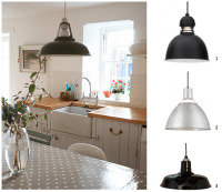 Warehouse Kitchen Pendants Inspired By Country Farmhouse ...