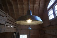 Rustic Barn Lights Give Vintage Feel to New Barn | Blog ...