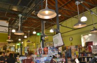 Rustic Wall Sconces, Barn Pendants Fill Greenlife Grocery ...