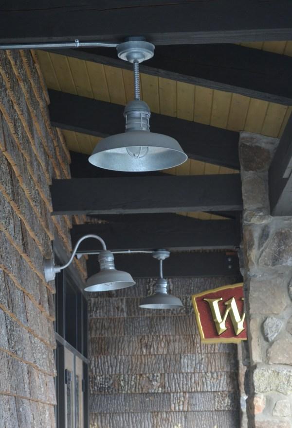 Rustic Gooseneck Barn Light Fixtures