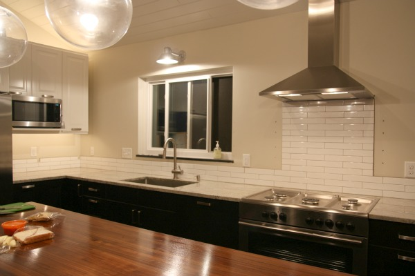 light for kitchen dark table gooseneck barn fixture a classic remodel blog in particular though it was important to me have adequate over the sink