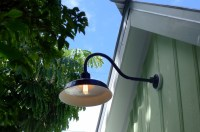 Gooseneck Barn Lights Bring Historic Touch to Conch-Style ...