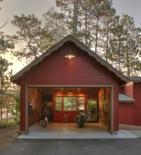 Classic Gooseneck Barn Lights Give New Space 'Old Garage ...