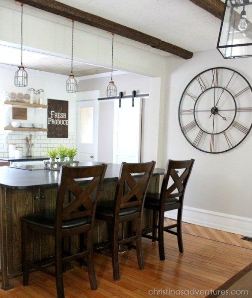 farmhouse kitchen island lights Industrial Pendants for Farmhouse Kitchen Makeover | Blog