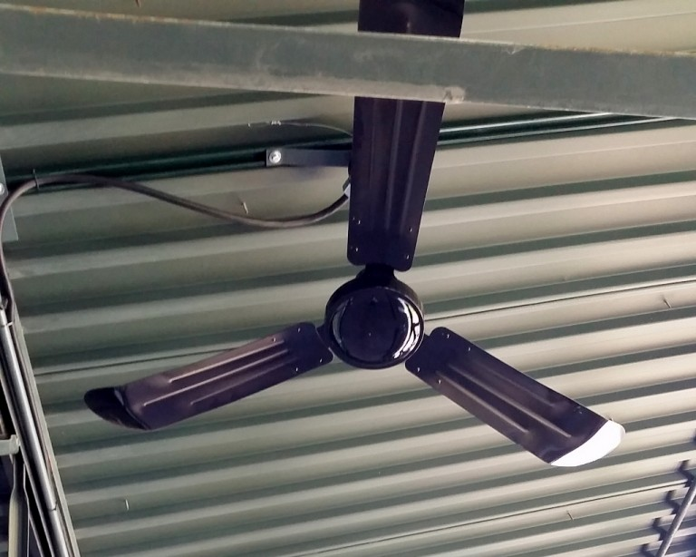 Ceiling Fans Keep Things Cool for Baseball Faithful