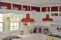 Barn Pendant Lights Define Modern Country Kitchen | Blog ...