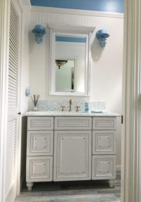 Nautical Wall Sconces for Coastal California Bath Reno ...