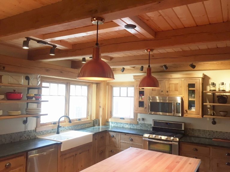lights over kitchen island small islands on wheels featured customer | american-made lighting offers quality ...