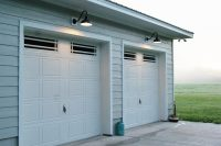 Exterior Lighting Over Garage Door. outside garage door ...