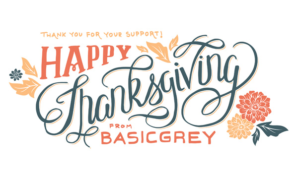 BasicGrey Thanksgiving