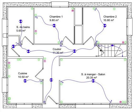 Plan Maison Complet Gratuit Latest Plan Maison M Plan Maison Plain