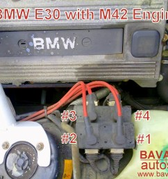 bmw 318i m42 coil pack spark plug wire and firing order 318is coil on plug tester [ 2560 x 1920 Pixel ]