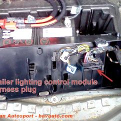 Trailer Light Module Fault Wiring Diagram For 220 Volt Generator Plug Bmw X5 E53 How To Lighting Harness Control Install 7