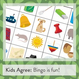 Kids Agree: Bingo is fun! (BayTreeBlog.com)
