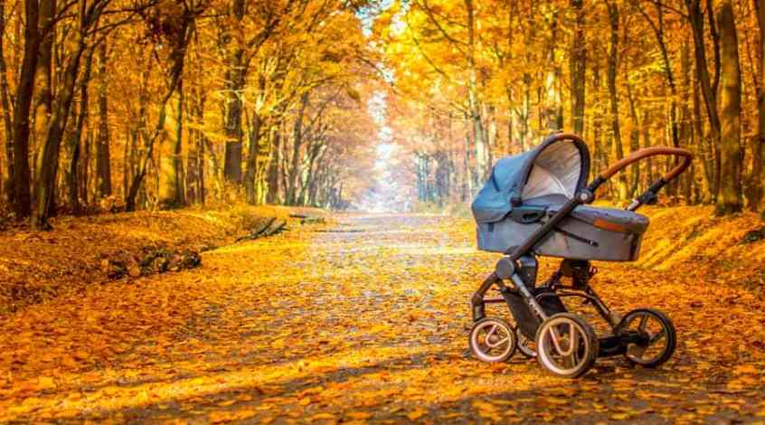 paseos bebe otoño